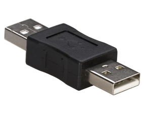 Adapter Akyga USB AM/ USB AM
