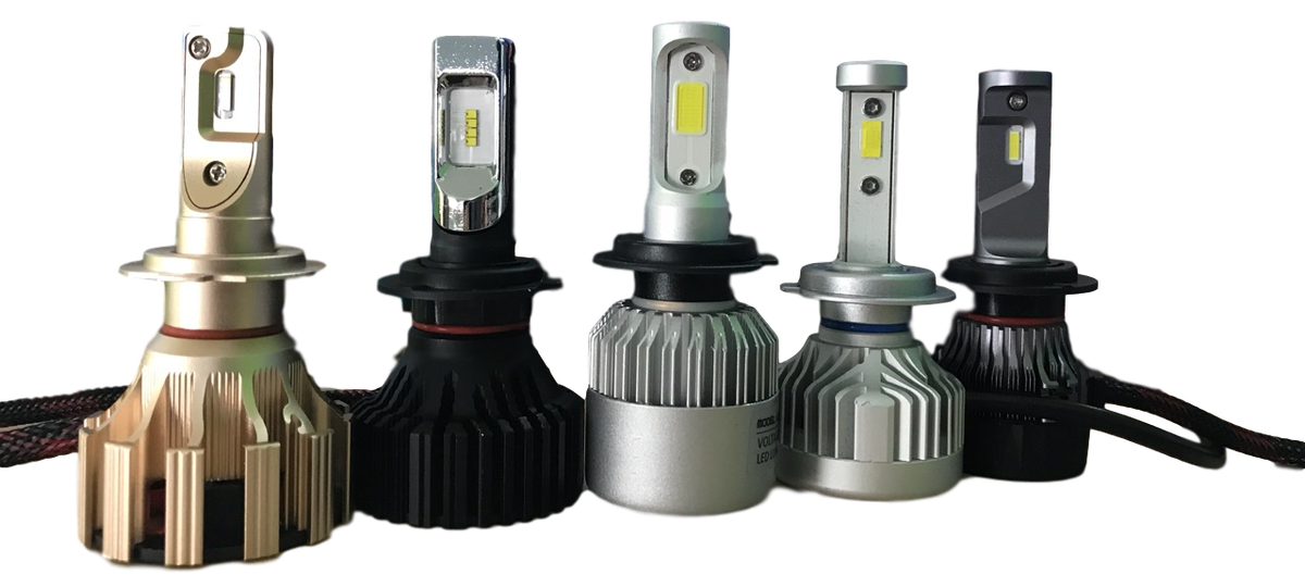 Novo v ponudbi! LED H7, H4, H11, H8, H1, H3 žarnice - SILUX